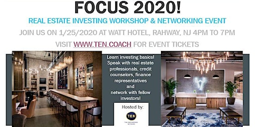 FOCUS 2020! Real Estate Investing & Networking Event