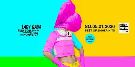 Milchbar2010 - Münchens erste 2010er Party - SO.5.1.2020 (Tag vor Feiertag) Tickets