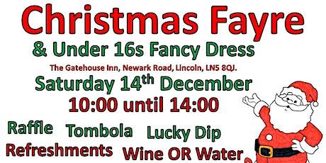 Christmas Fayre & Under 16s Fancy Dress tickets