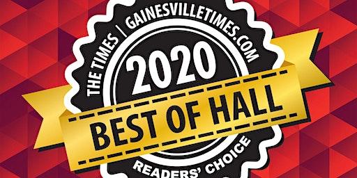Best of Hall 2020 Winners