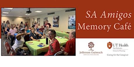 SA Amigos Memory Cafe (June 12, 2020) tickets