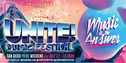 UNITE! Music Festival - San Diego Pride 2020