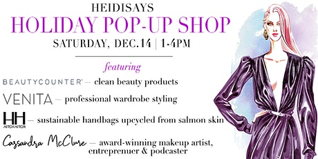 Holiday Pop-Up at HeidiSays tickets