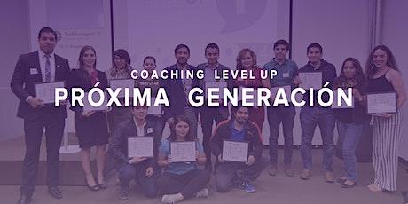 Coaching Level Up- Generación 62 entradas