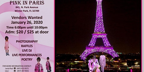 PINK IN PARIS tickets