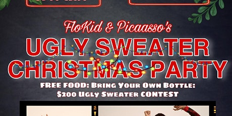 FloKid & Picaasso Ugly Sweater Christmas Party tickets