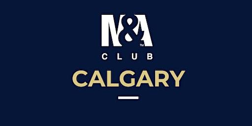 M&A Club Calgary : Meeting January 23rd, 2020