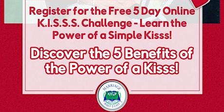 Free Online Healthy  K.I.S.S.S. CHALLENGE Live Webinar tickets