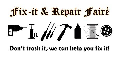 Fix-it & Repair Fairé tickets