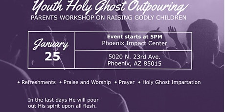 Youth Holy Ghost Outpouring tickets