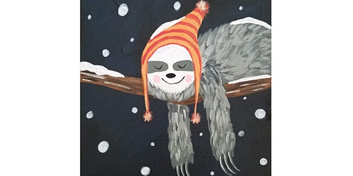 Sleepy Winter Day - Kids Paint Party with Abby Wilner