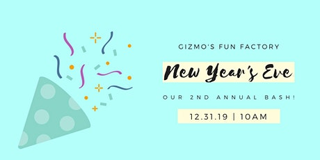 NEW YEARS EVE At GIZMOS tickets
