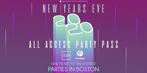 All Access Party Pass Boston NYE 2020
