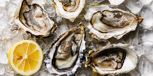 Champagne and Oyster Tasting  at Aurora Cooks! 6:30pm