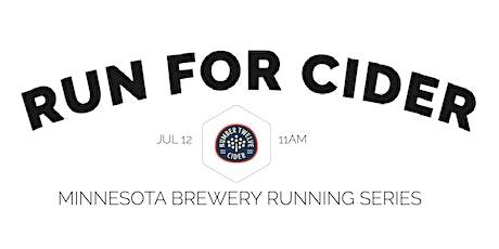 Cider Run - Number 12 Cider | 2020 Minnesota Brewery Running Series tickets