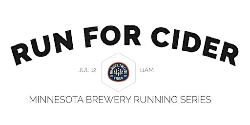 Cider Run - Number 12 Cider | 2020 Minnesota Brewery Running Series