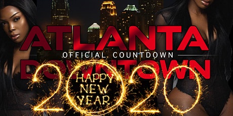 Atlanta's official Downtown New Years Countdown Celebration tickets