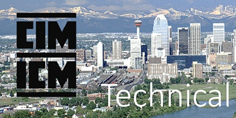 CIM Calgary Technical Luncheon - January 2020 tickets