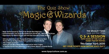 THE QUIZ SHOW OF MAGIC & WIZARDS - BENDIGO tickets