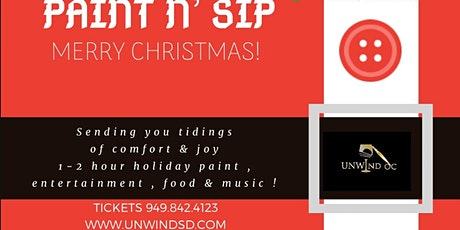 HOLIDAY SIP AND PAINT ALL AGES SPECIAL GUEST SAN DIEGO ACADEMY OF BALLET tickets