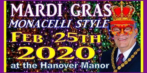 Mardi Gras Monacelli Style 2020