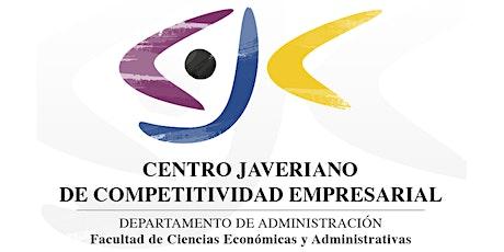 Cátedra de Competitividad y Gobernanza Colaborativa boletos