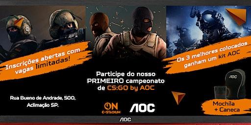 Campeonato de 1x1 de CS:GO by AOC