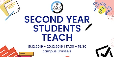 Second Year Students Teach! tickets