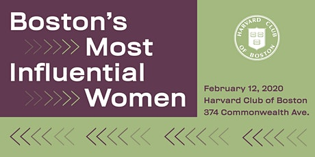 Boston's Most Influential Women Gala tickets