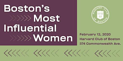 Boston's Most Influential Women Gala