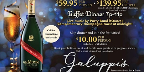 New Year's Eve Party at Galuppi's tickets
