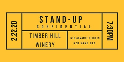 Stand-Up Confidential at Timber Hill Winery