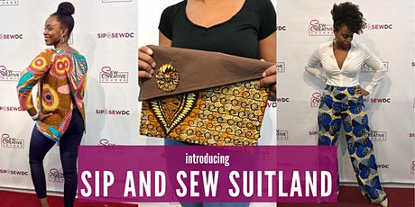 Sip and Sew Suitland tickets