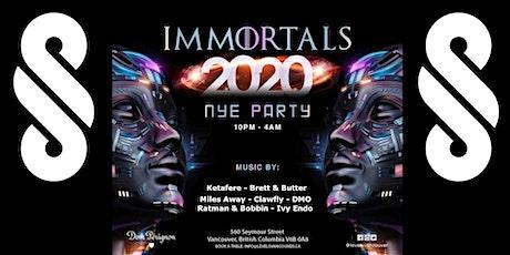 Immortals NYE 2020 at Levels tickets