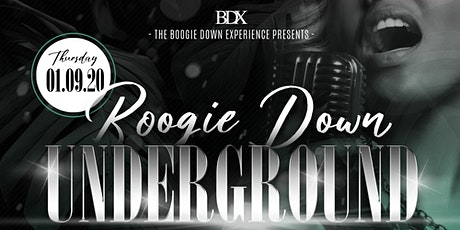 Boogie Down Underground tickets