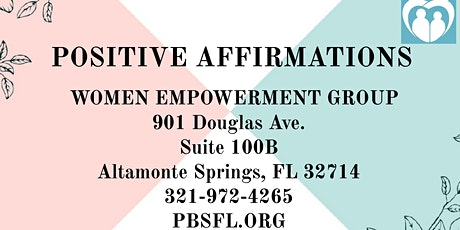 POSITIVE AFFIRMATIONS: Women Empowerment Group tickets
