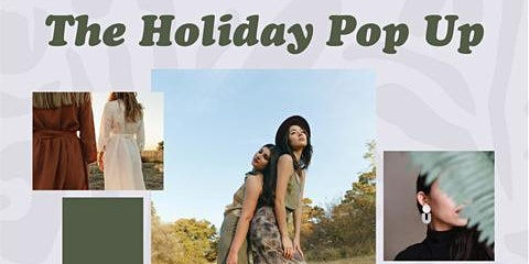 The Holiday Pop Up Shop 12/10-12/24