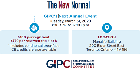 2020 GIPC Annual Event - The New Normal tickets