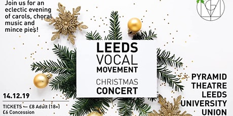 Leeds Vocal Movement Christmas Concert 2019 tickets