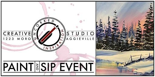 Paint & Sip | Pastel Winter