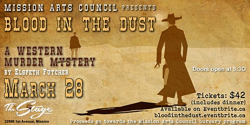 Blood In the Dust Murder Mystery by Elspeth Futcher