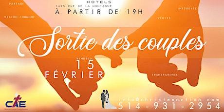 Gala des couples CAE 2020 billets