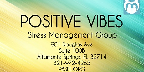 POSITIVE VIBES: Stress Management Group  tickets