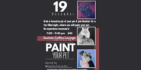 Paint your Pet - Paint night tickets