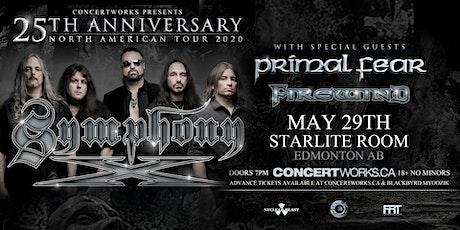 Symphony X w/ Primal Fear & Firewind tickets