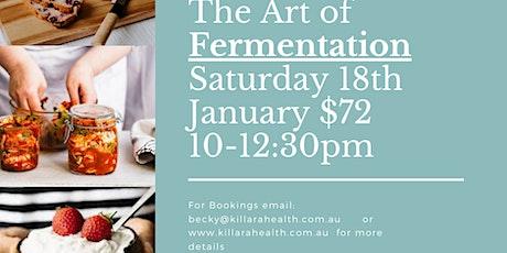 The Art of Fermentation tickets
