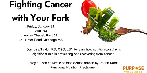 Fighting Cancer With Your Fork