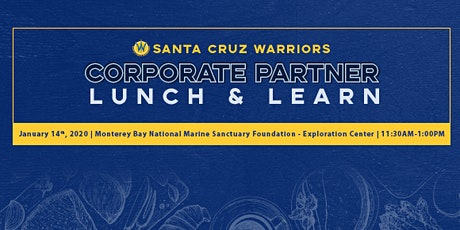 Lunch and Learn - Monterey Bay Marine Sanctuary tickets