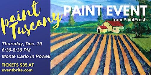Paint Tuscany
