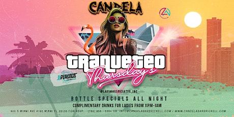 Traqueteo Thursday's at Candela Bar Brickell  tickets